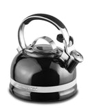 KitchenAid 1.9LT Stove Top Kettle - Onyx Black