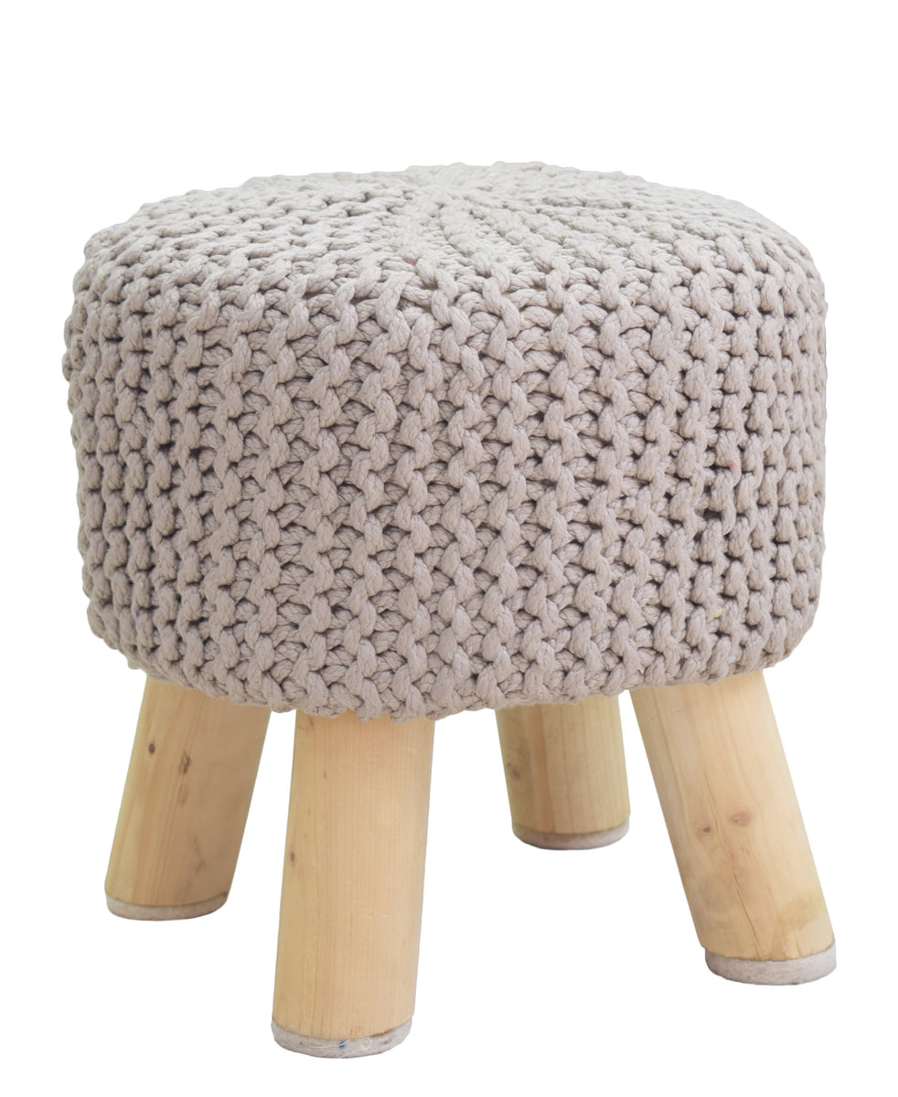 Neo Handmade Stool 340mm - Light Brown