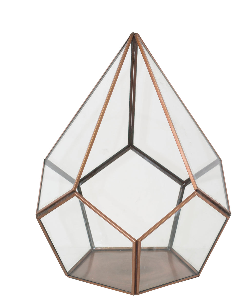 Terrarium Box 30 x 23cm - Rose Gold