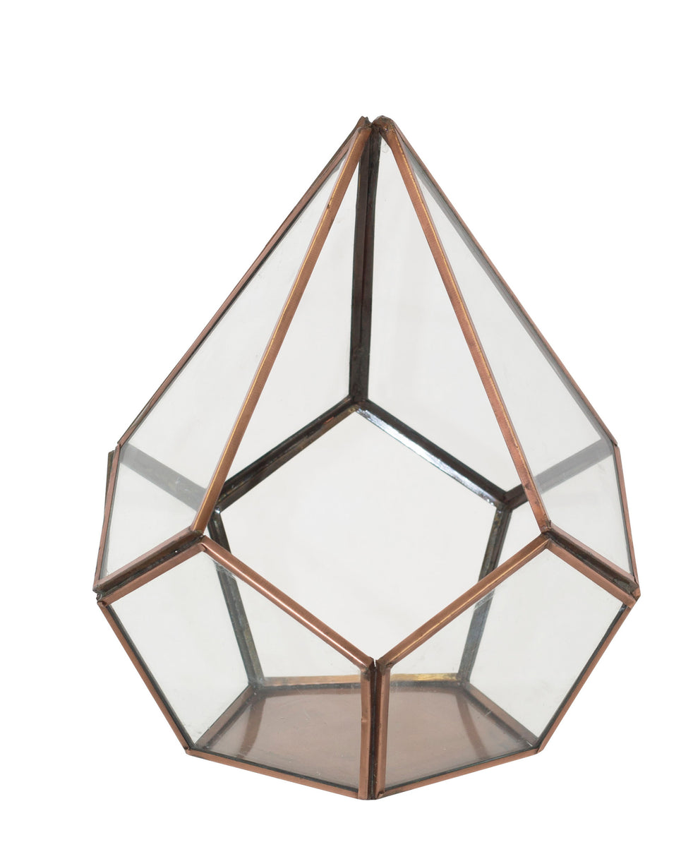 Terrarium Box 20 x 18cm - Rose Gold
