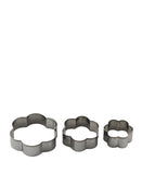 Kitchen Inspire Cookie Cutters Set 6 Piece - Silver
