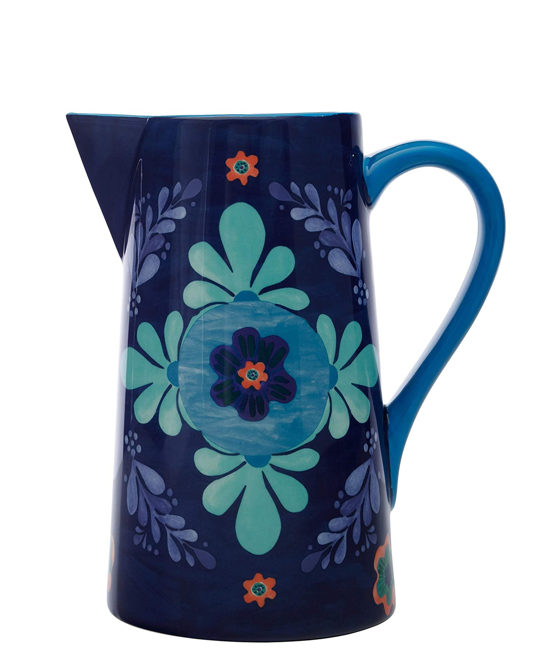 Maxwell & Williams Majolica Pitcher 2.4L - Blue