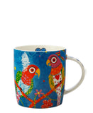 Love Hearts Rainbow Bird Mug 370ml
