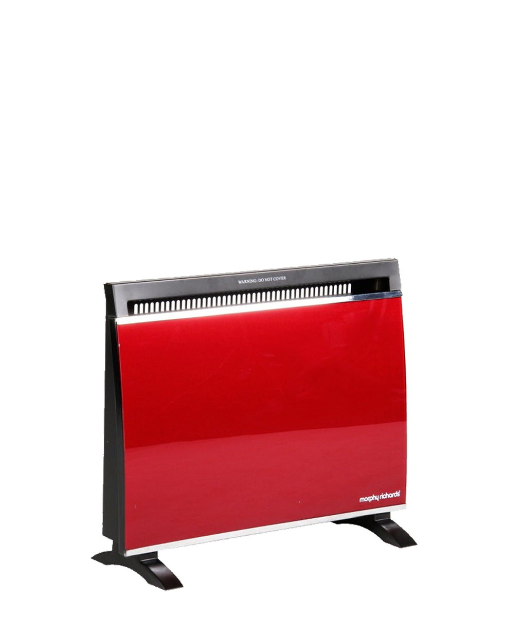 Morphy Richards Glass Panel Heater - Red