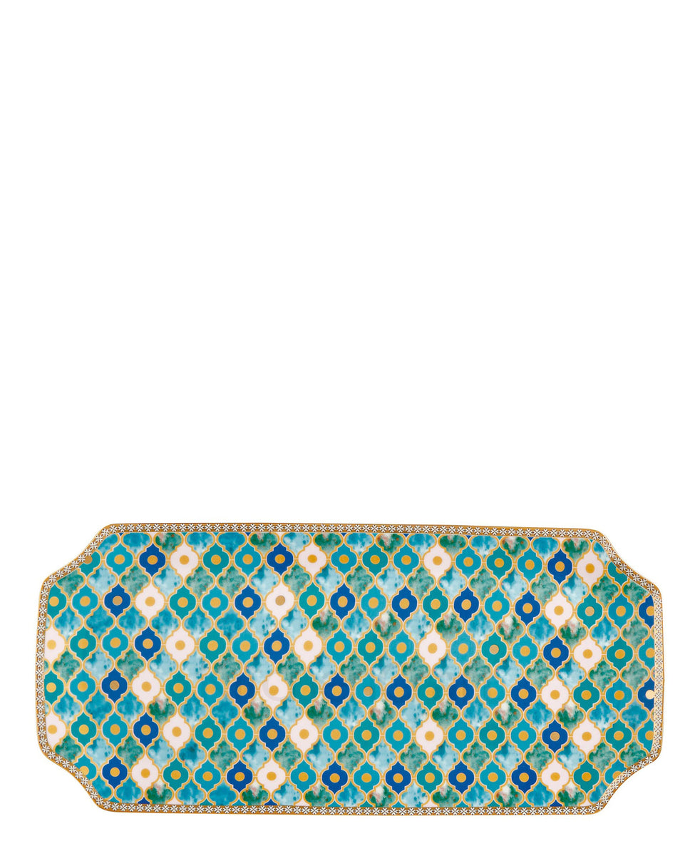Maxwell and Williams Kasbah Rectangulr Platter 33cm - Blue