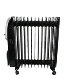 Midea Oil Heater 13 Fin - Black
