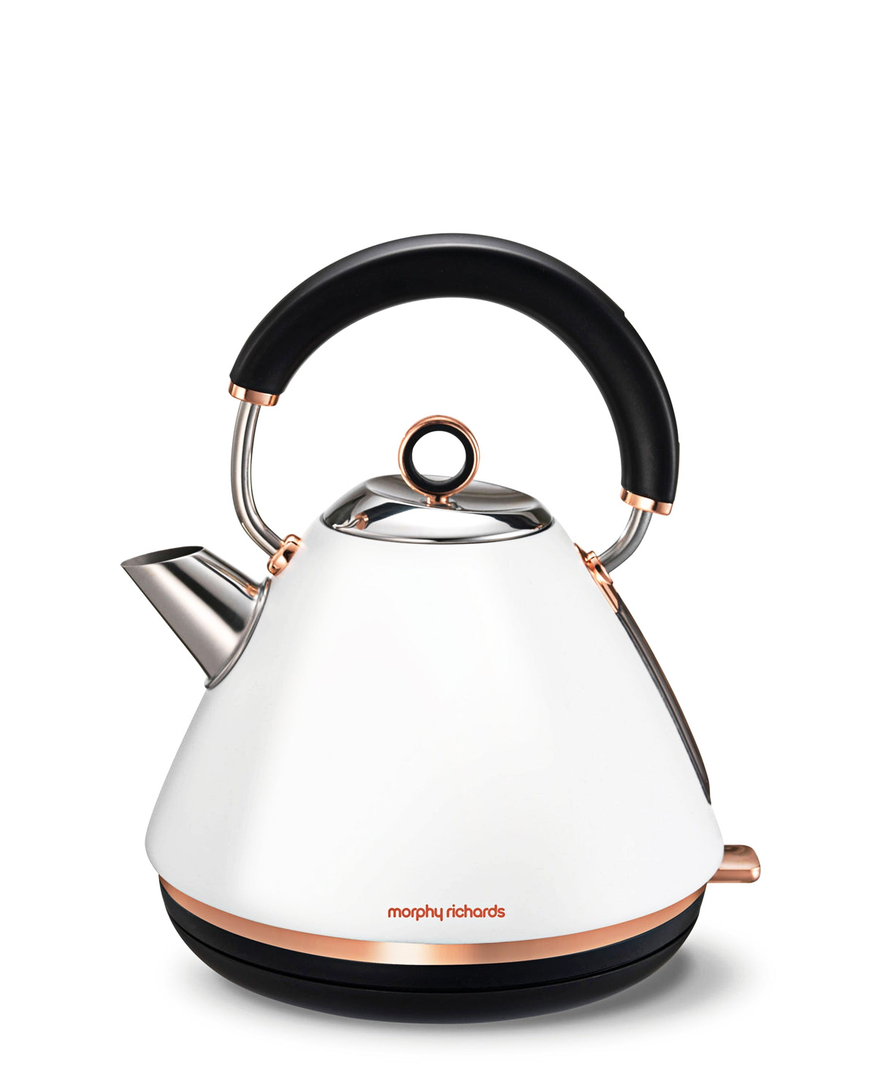 Morphy Richards Accents Kettle 1.5LT - White & Rose Gold