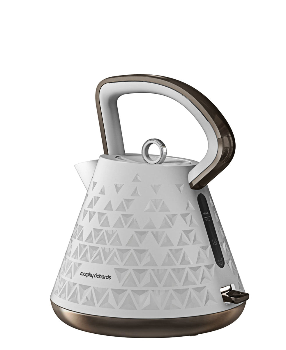 Morphy Richards Prism Kettle 1.5LT - White