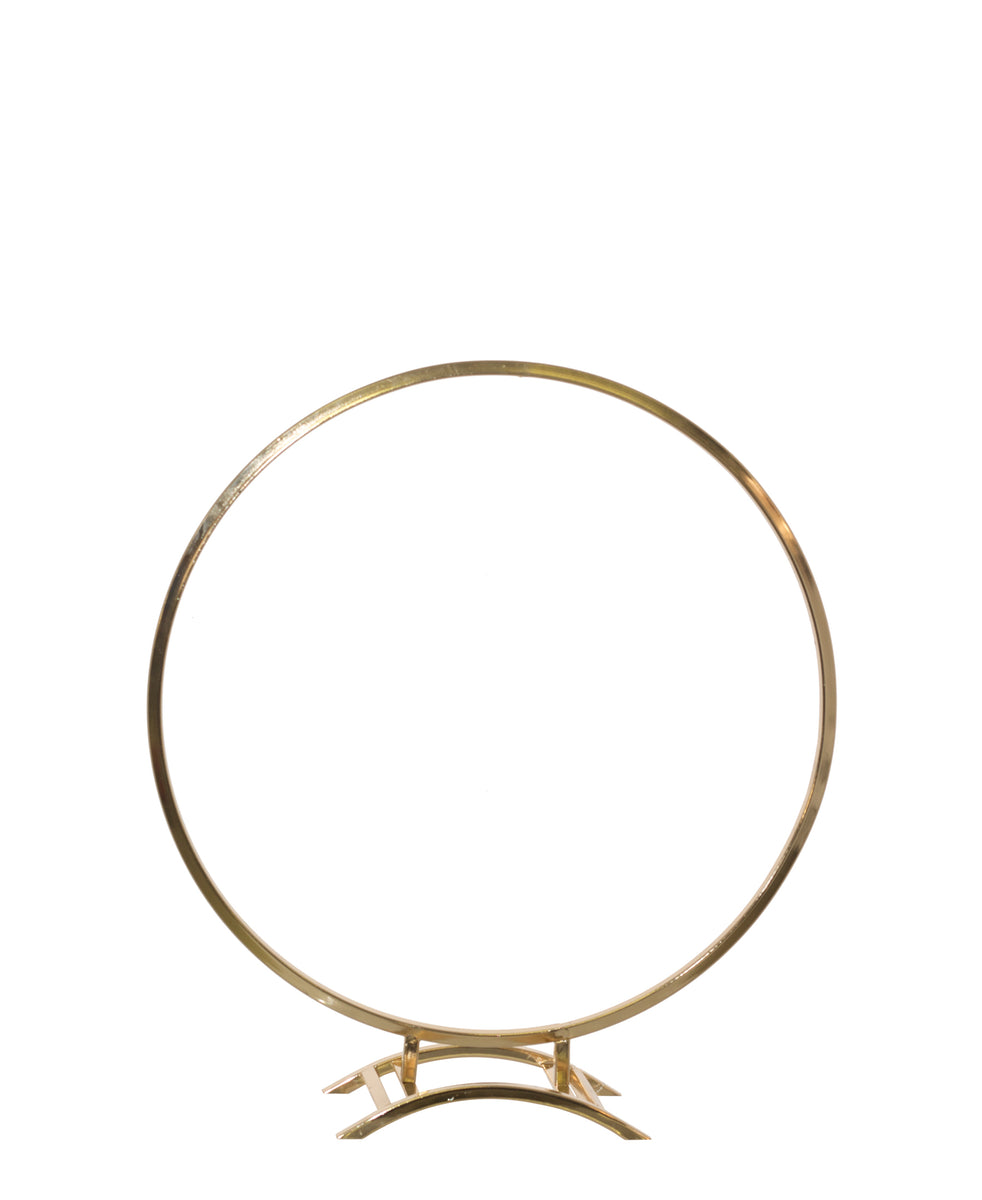 Circle Display Stand 50 x 45cm - Gold
