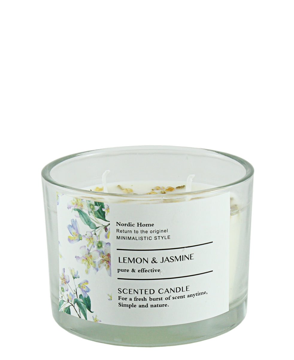 Nordic Home Lemon Scented Candle