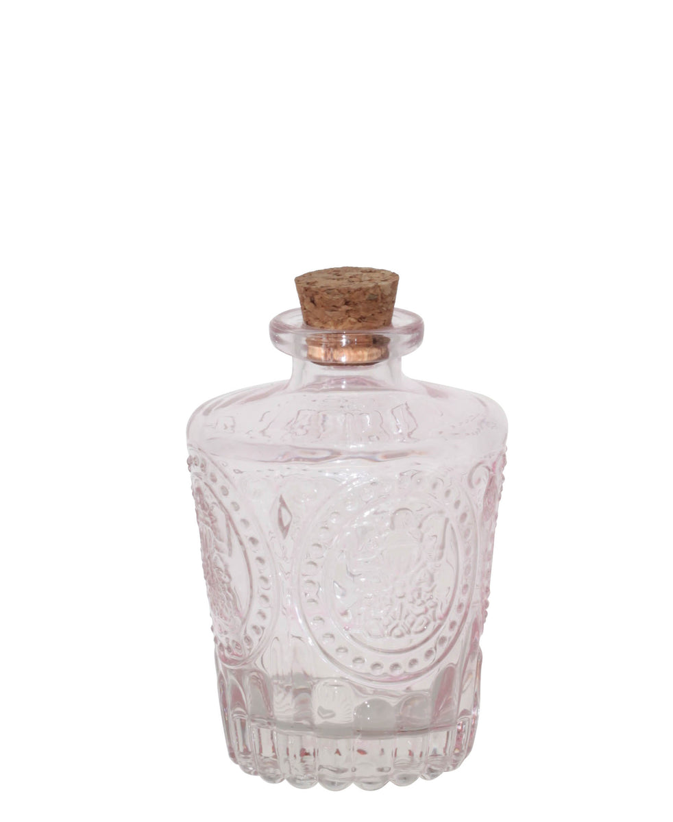 Keats Perfume Bottle With Cork - Clear