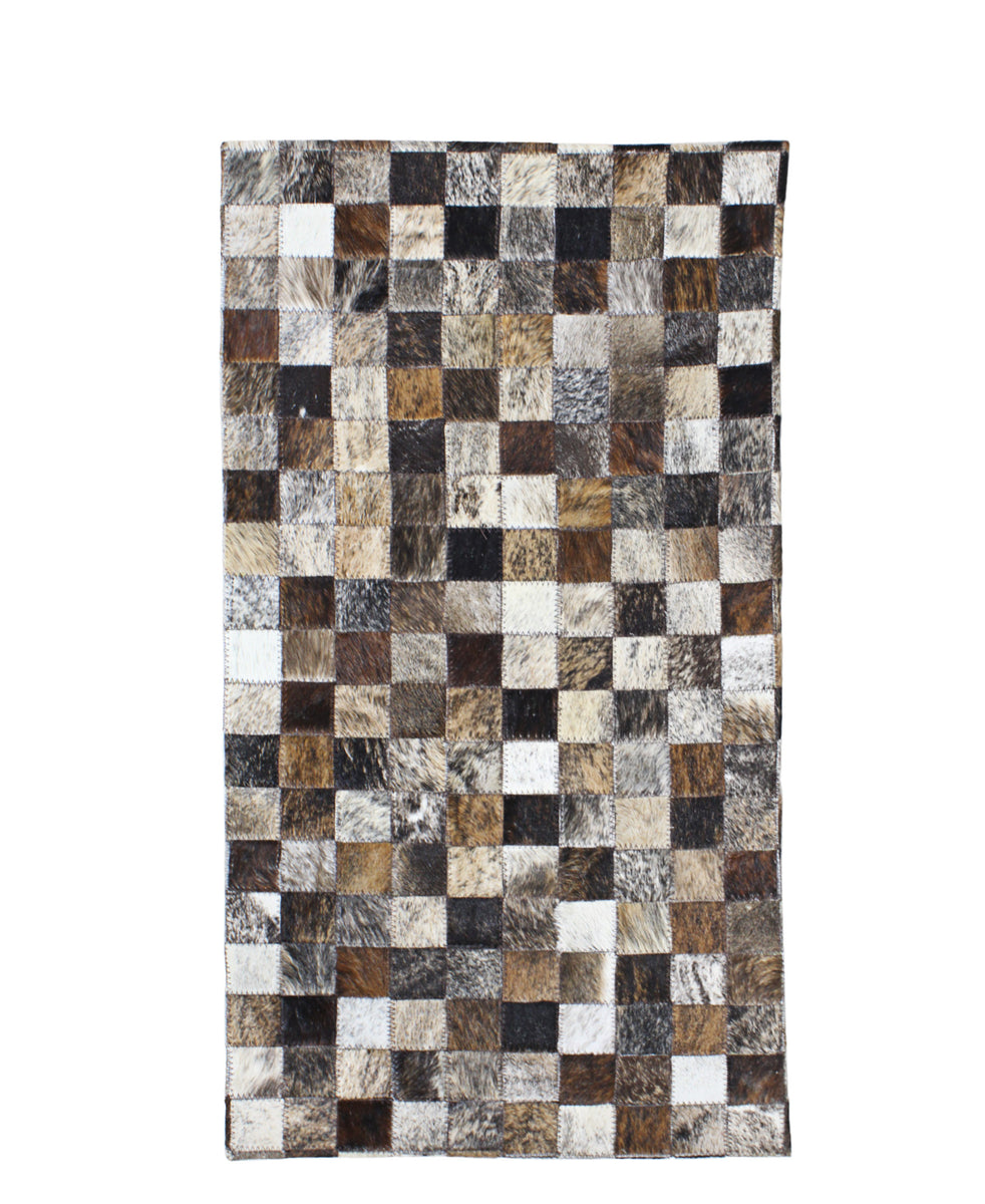 Nguni Pure Hide Carpet - Brown