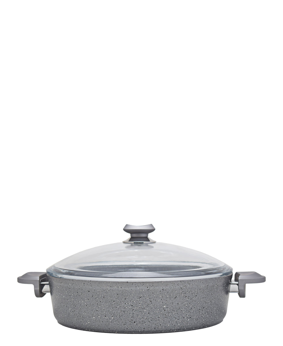 OMS 28cm Shallow Oven Casserole - Grey