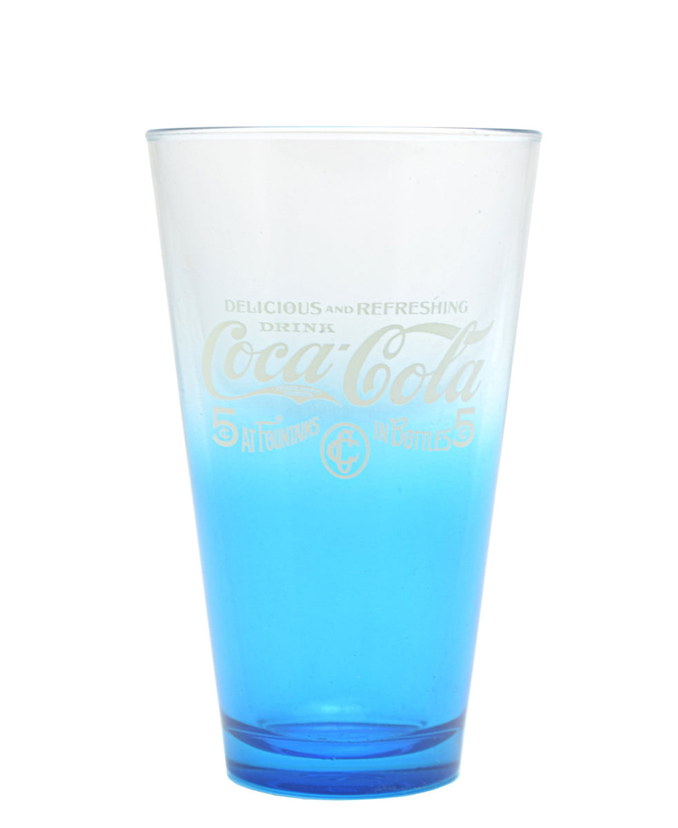 Retro Coca Cola Tumbler - Blue