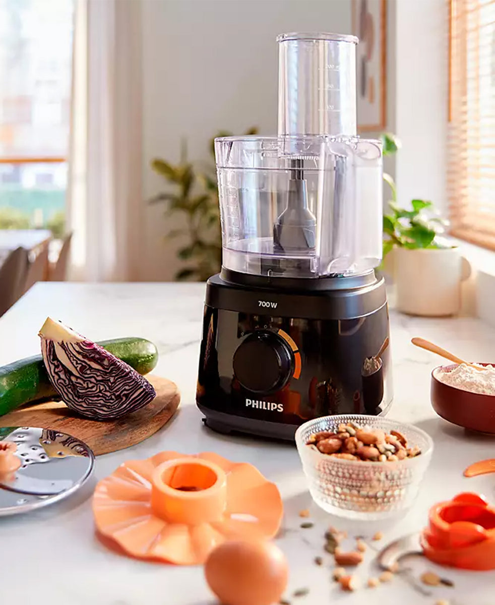 Philips Daily Collection Food Processor - Black