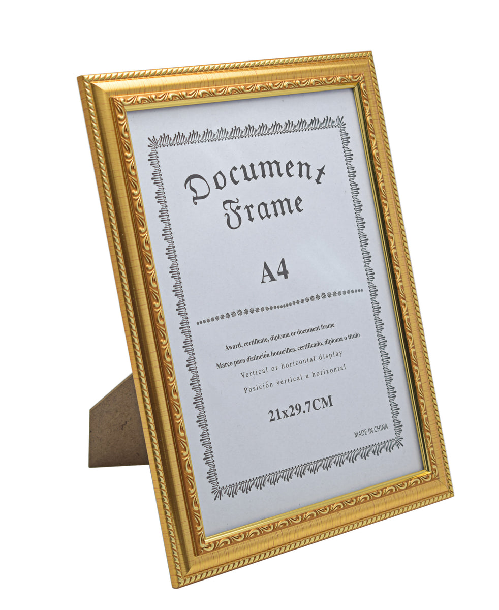 Picture Frame 21 x 29,7cm - Gold