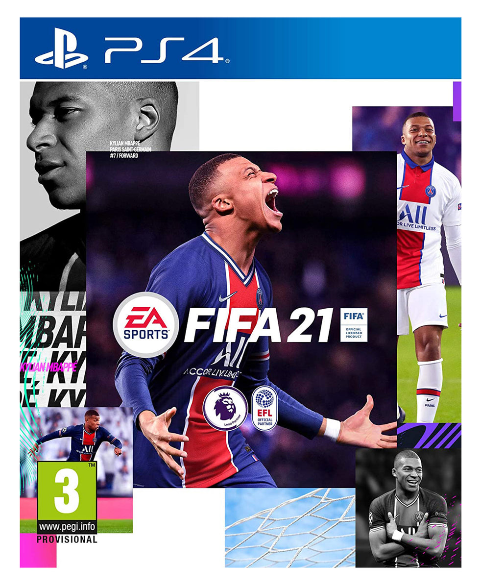PS4 FIFA 21 Standard Edition - Blue