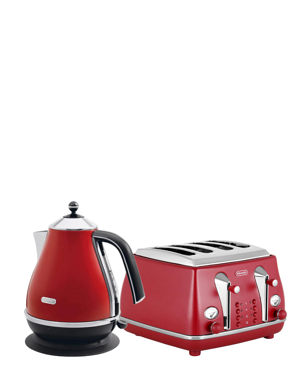 Delonghi Capitals Combo - Red