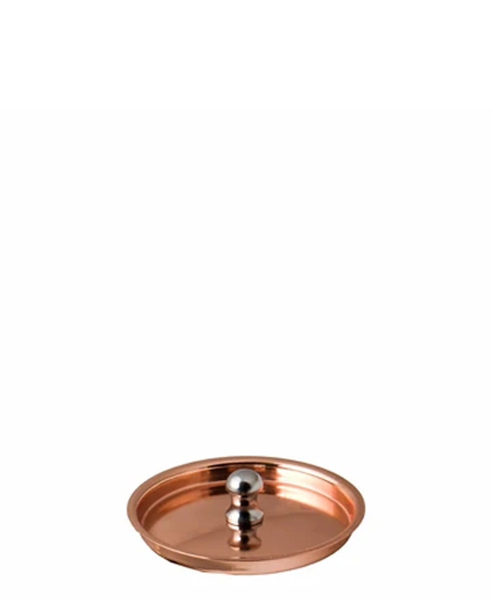 Regent Cookware Lid S/Steel To Fit 78mm Pot - Copper Plated