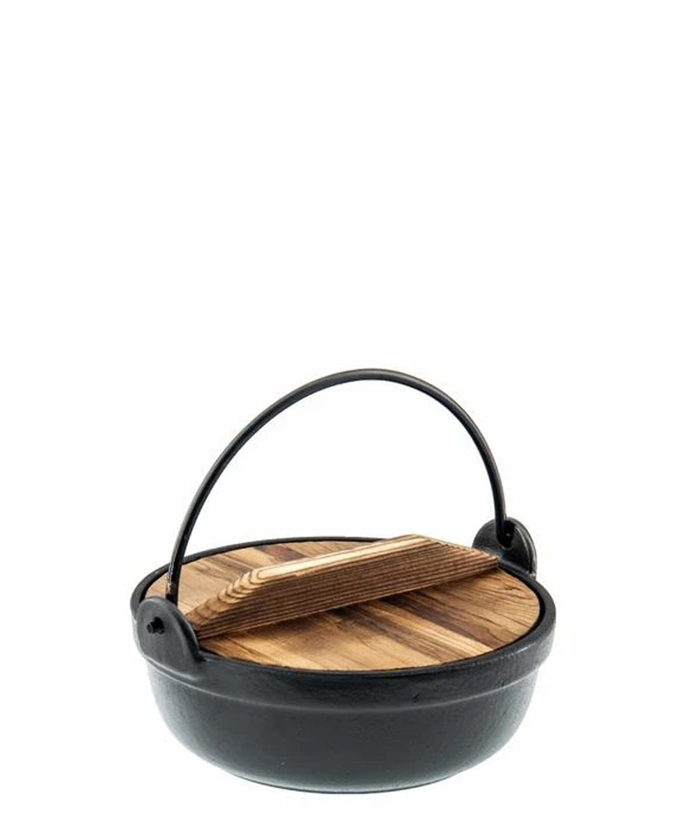 Regent 210mm Cast Iron Pot - Black