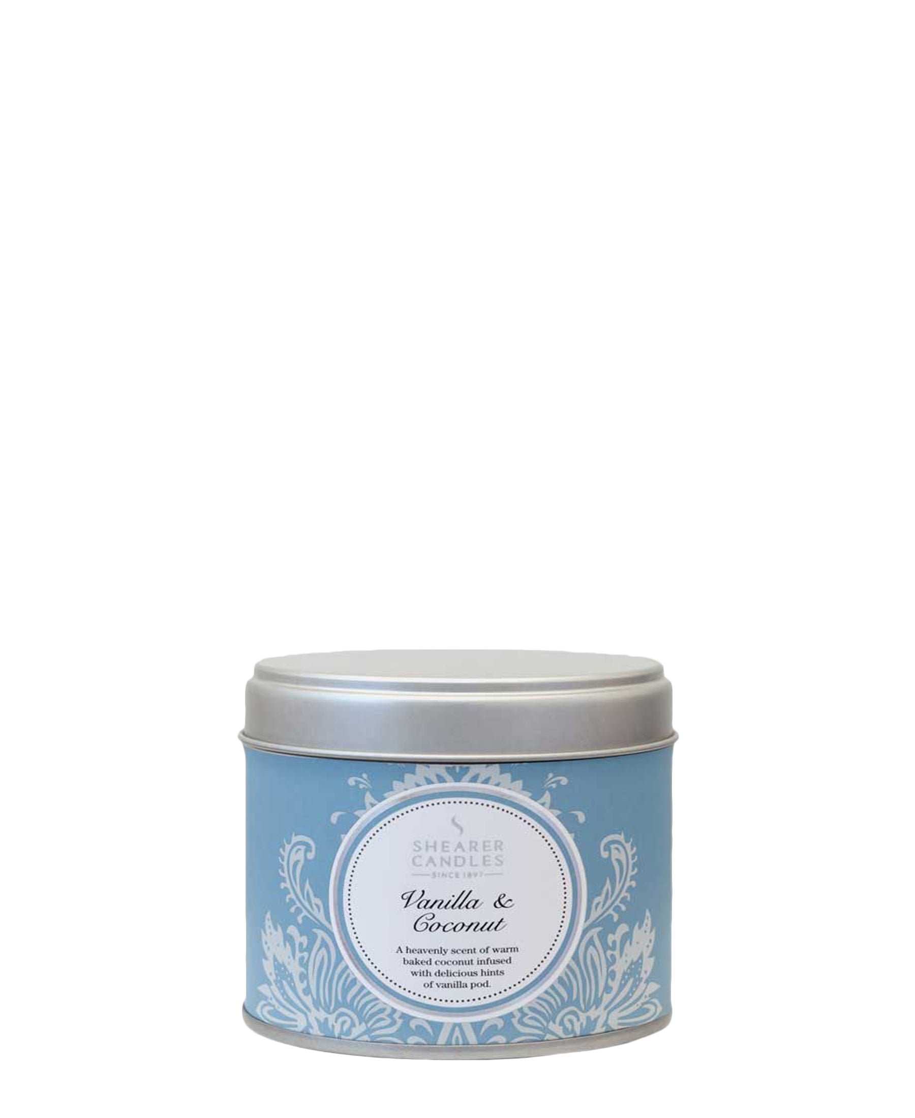 Shearer Candles Vanilla & Coconut Large Tin