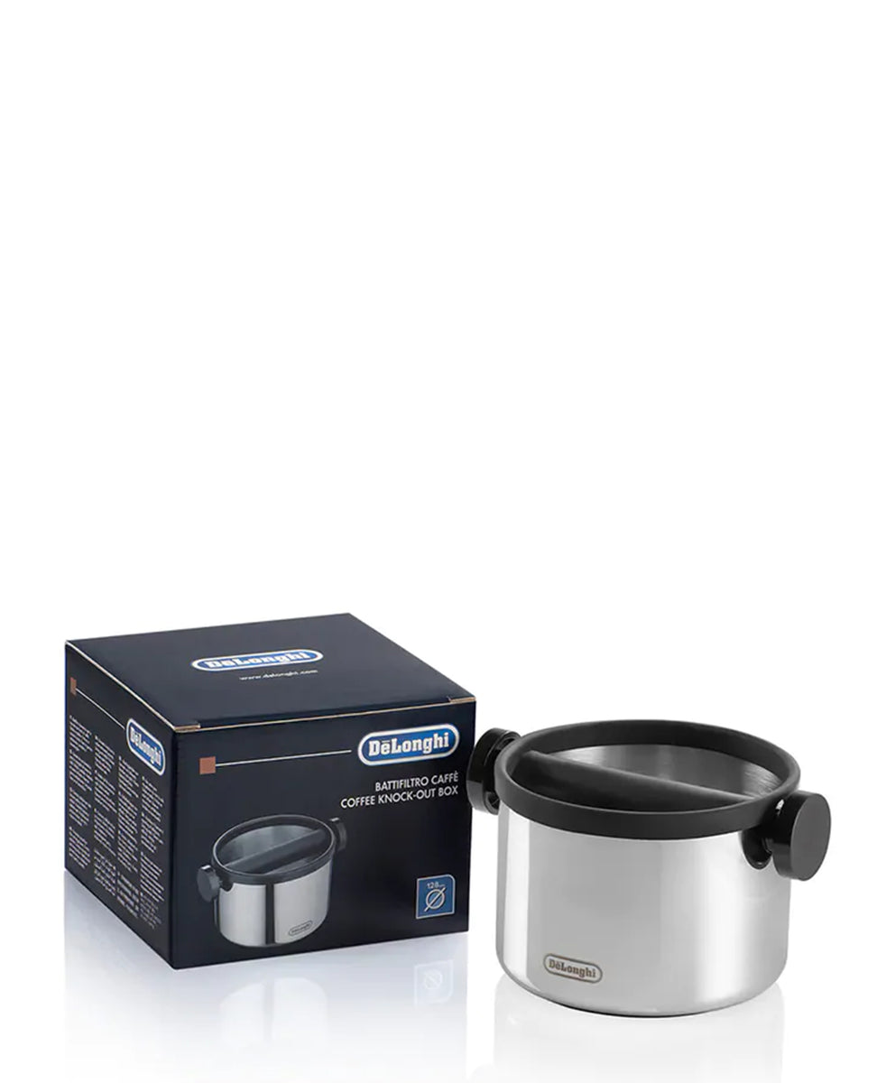 DeLonghi Knock Out Box - Silver