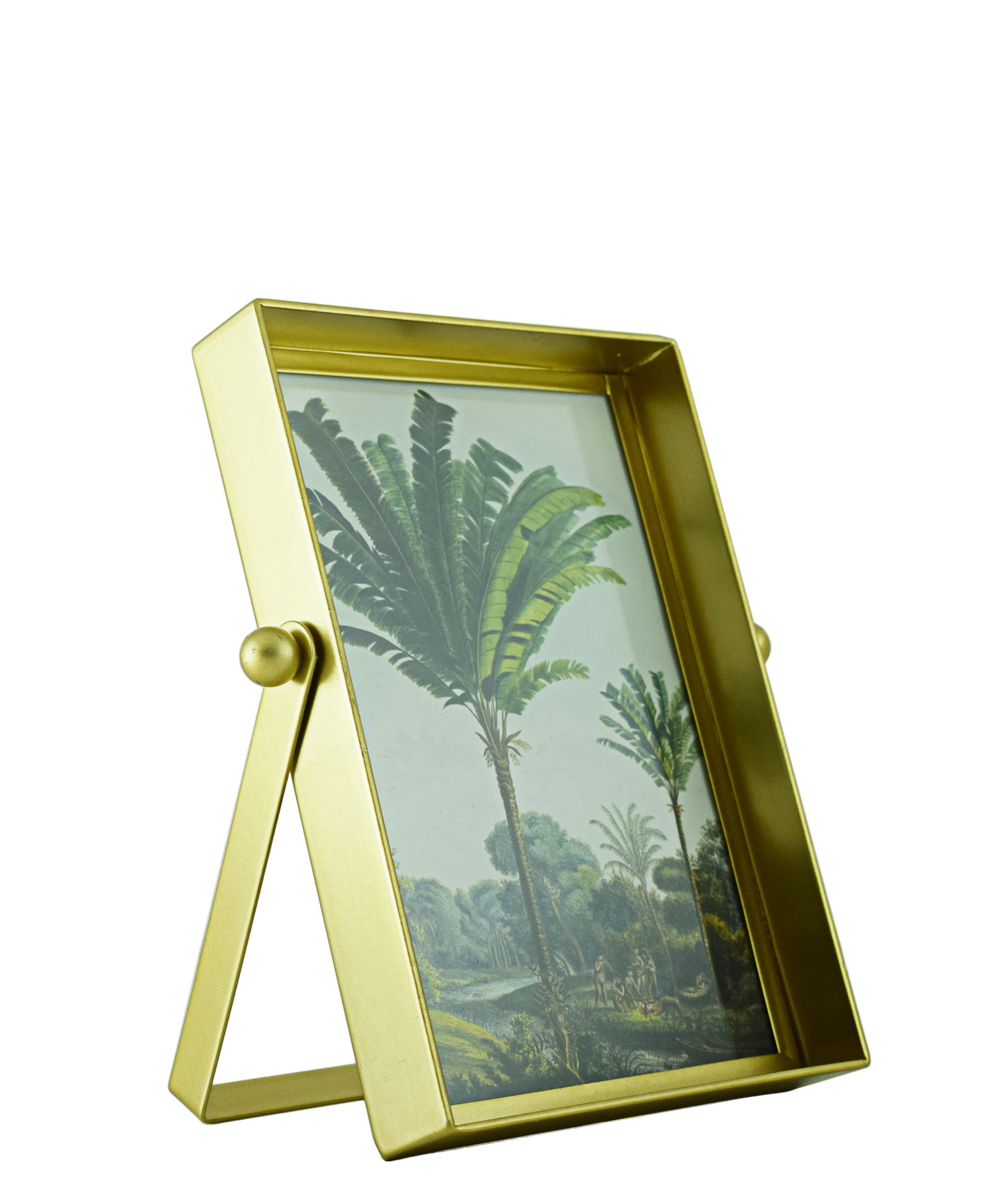 Square Gold Picture Frame