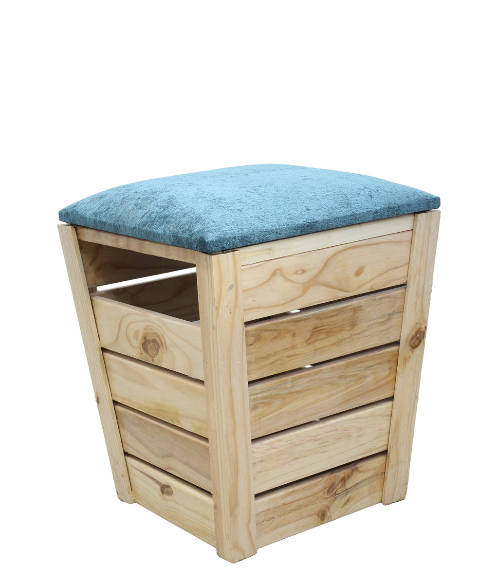 Wooden Laundry Bin - Oak