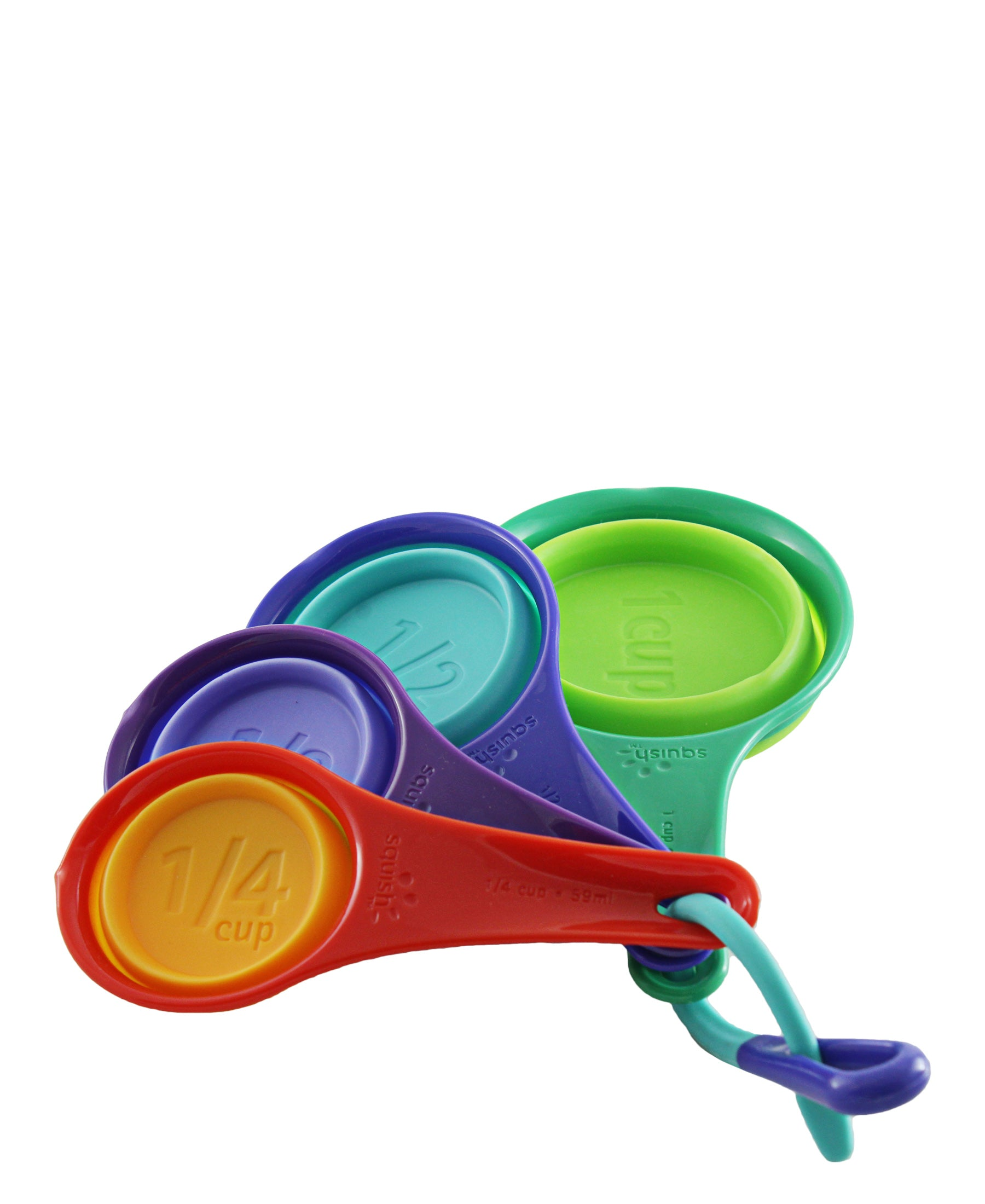 Squish Collapsible Measuring Cups - Multi