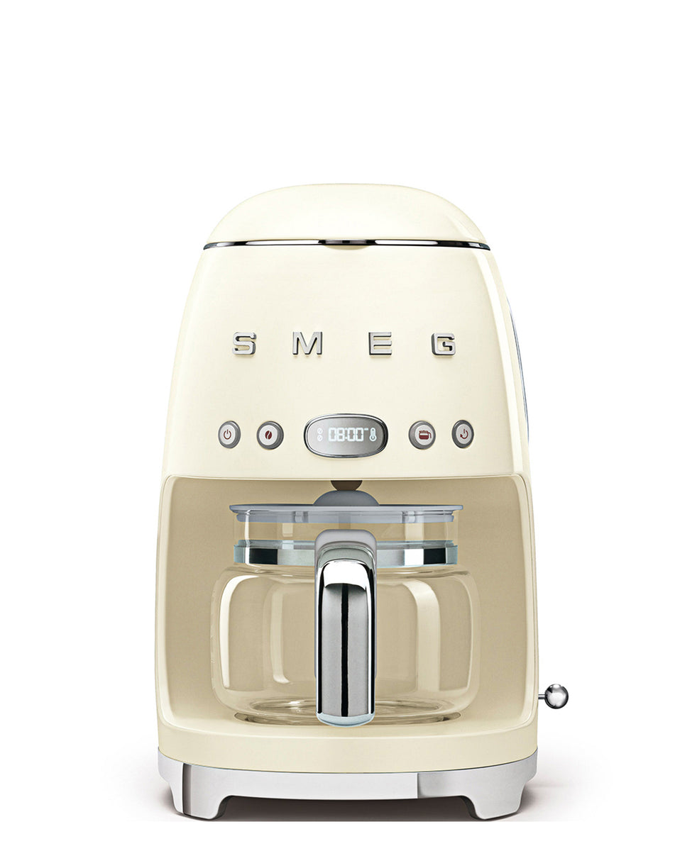 Smeg Drip Coffee Machine - Cream