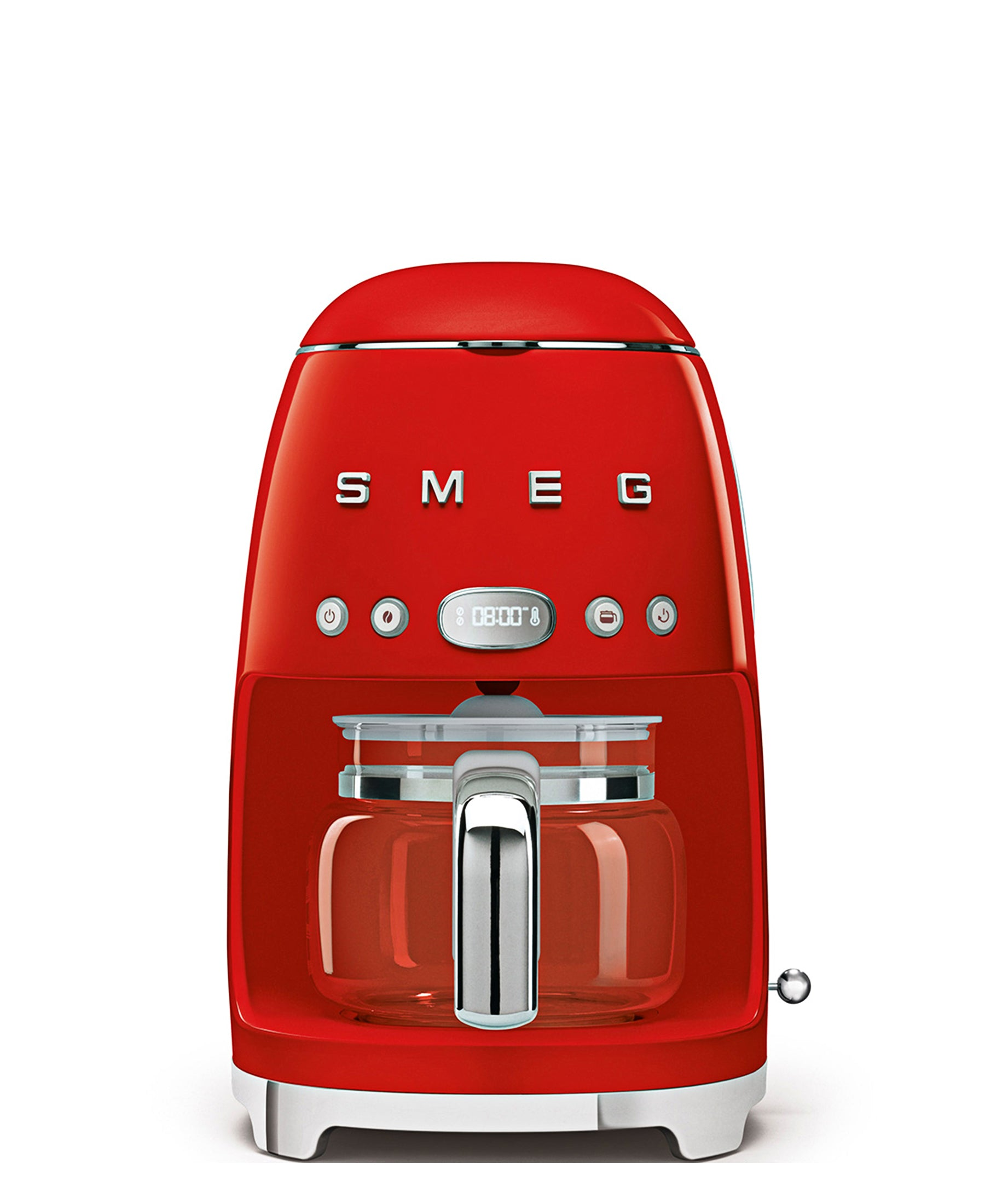 Smeg Drip Coffee Machine - Red