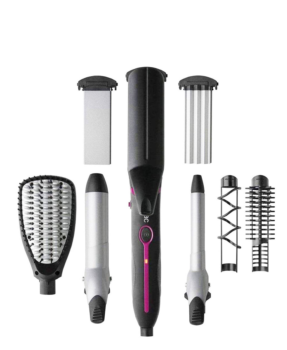 Solac Expert 7 in 1 Hair Curler - Black