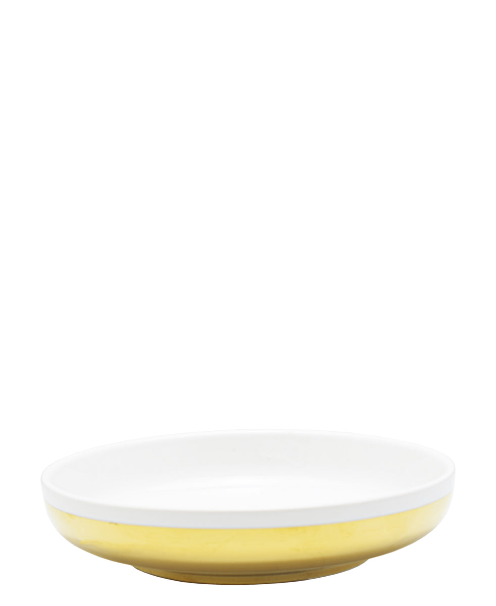 Symphony Adorn Serving Bowl 17cm - White & Gold