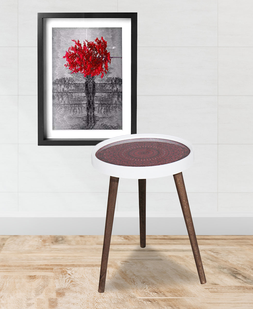 The Culinarium Side Table - Red