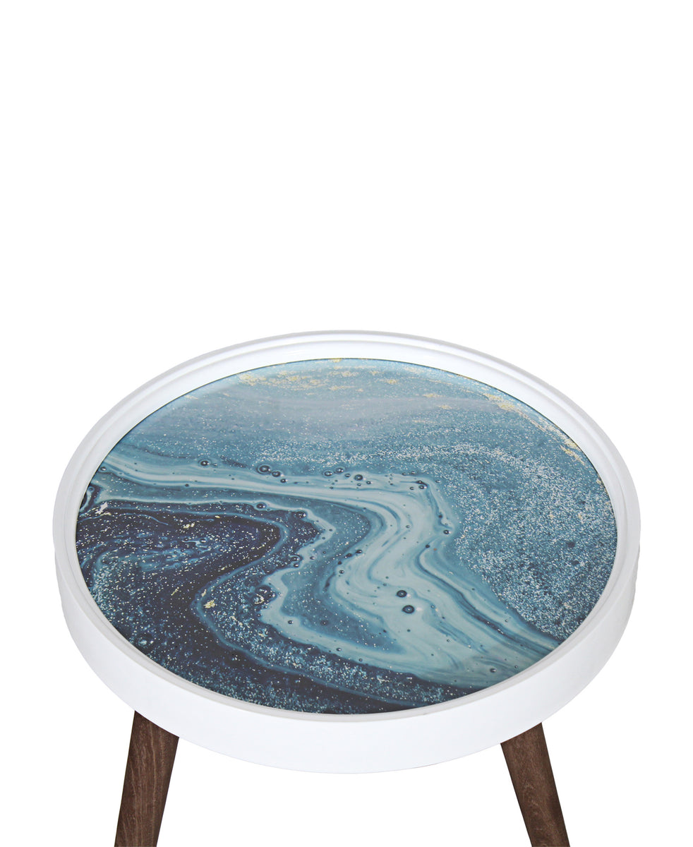 The Culinarium Side Table - Blue
