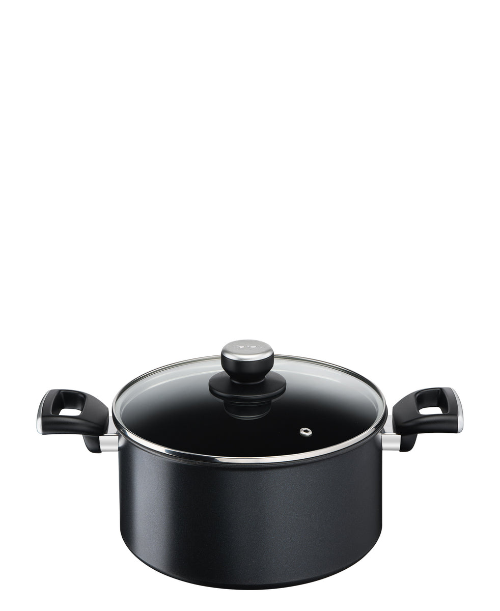 Tefal Unlimited Stew Pot 24cm - Black