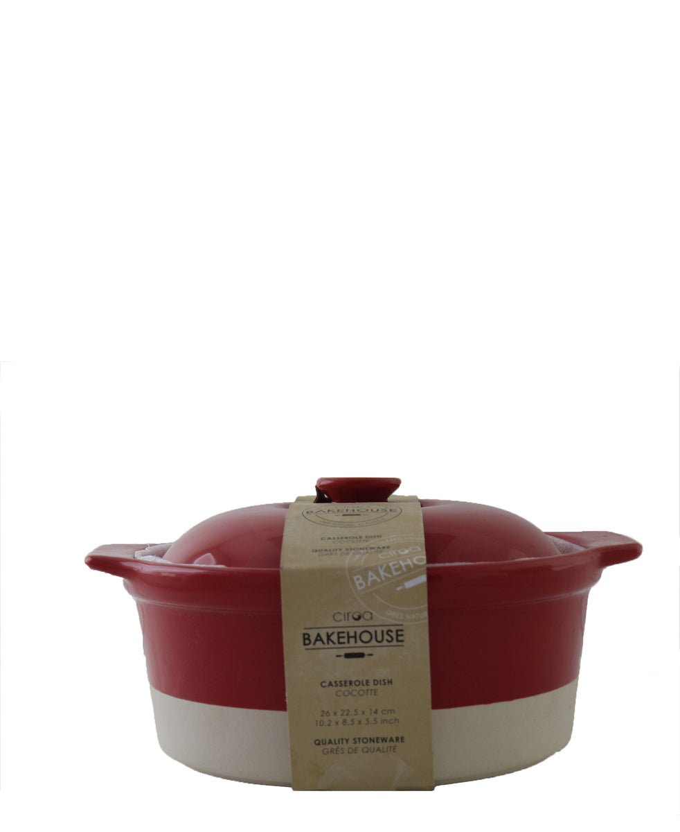 Ciroa Casserole Dish - Red set of 2