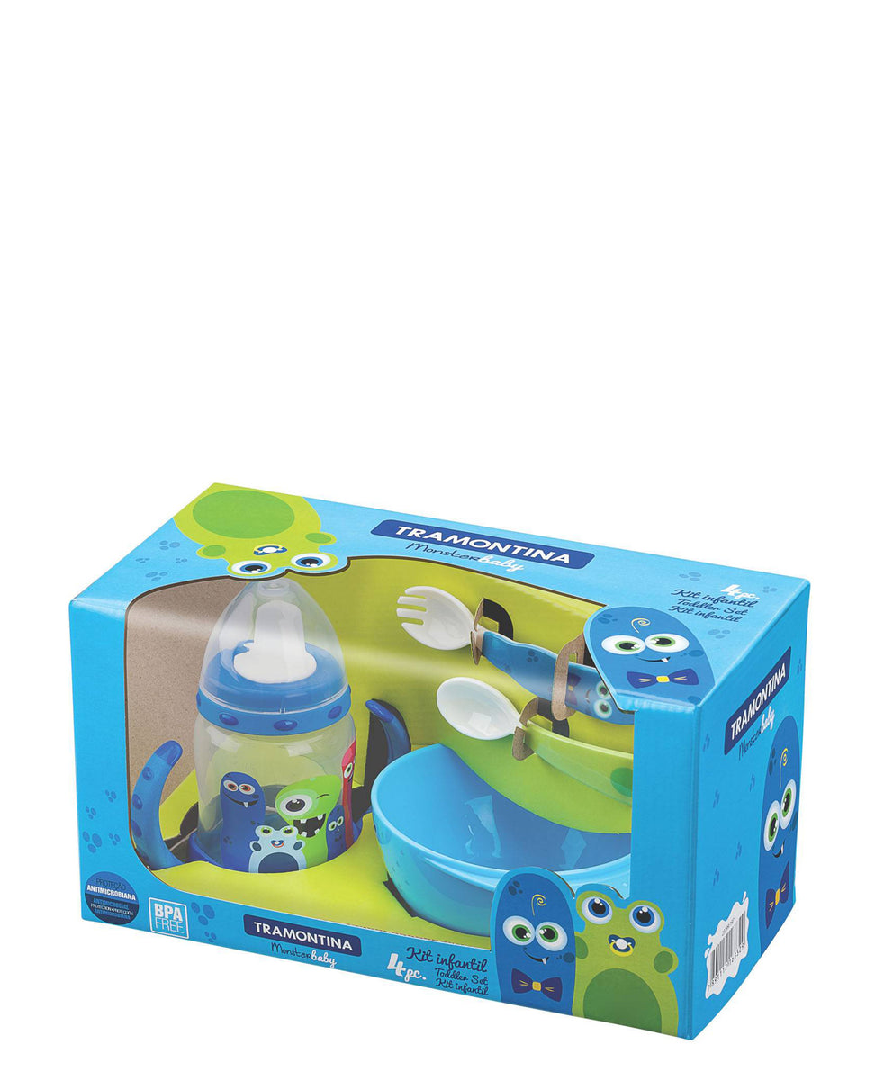 Tramontina Monsters Lunch Box - Green