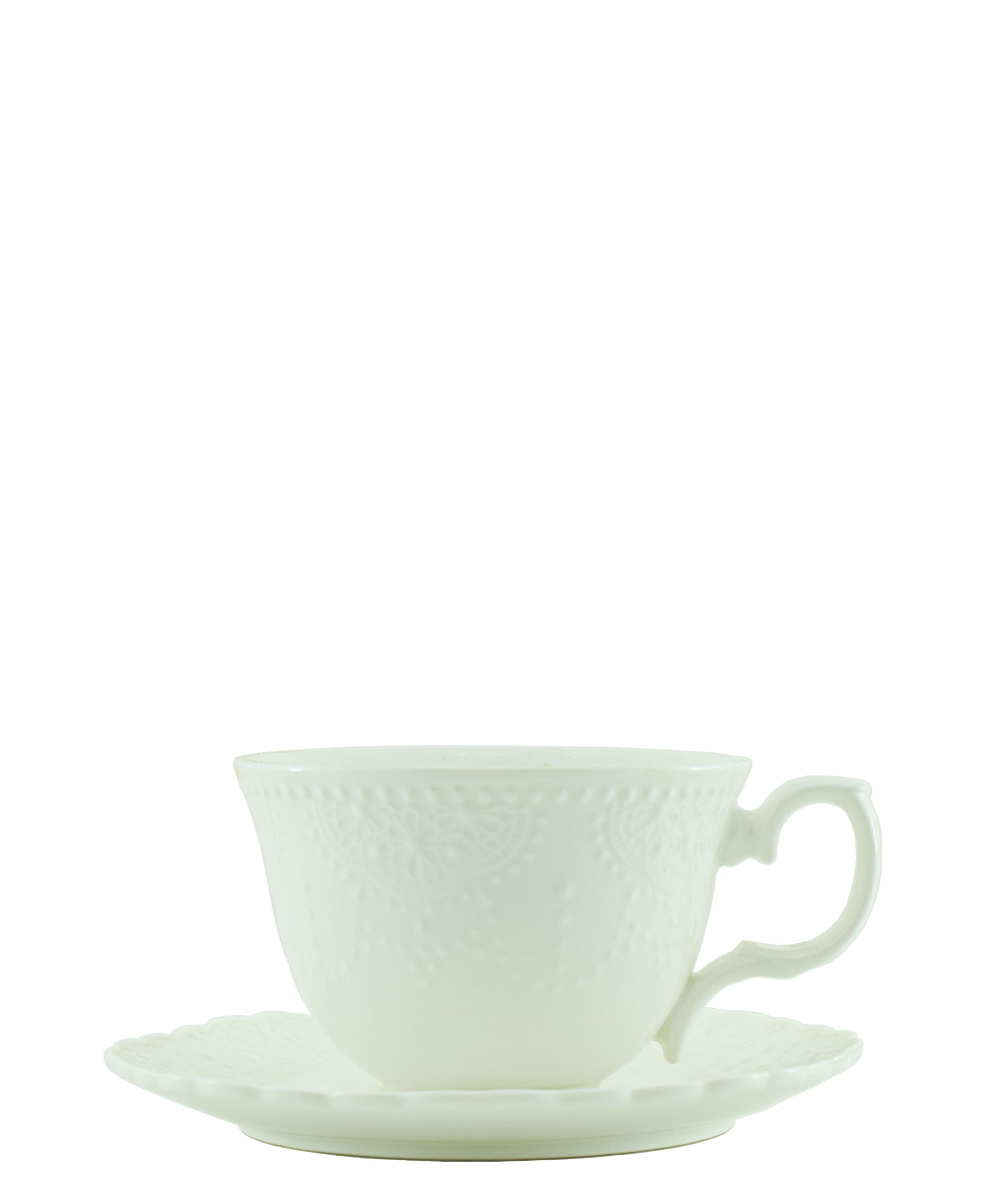 Maison Chic oversize Tea Cup And Saucer