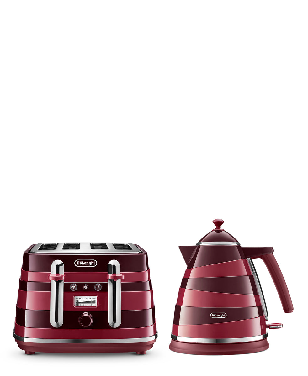 Delonghi Avvolta Combo - Crimson Red