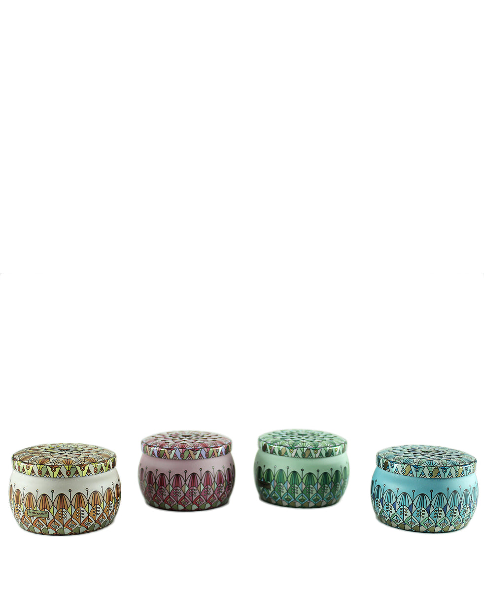 Relaxation & Luxe Candles 4 Pack - Multi