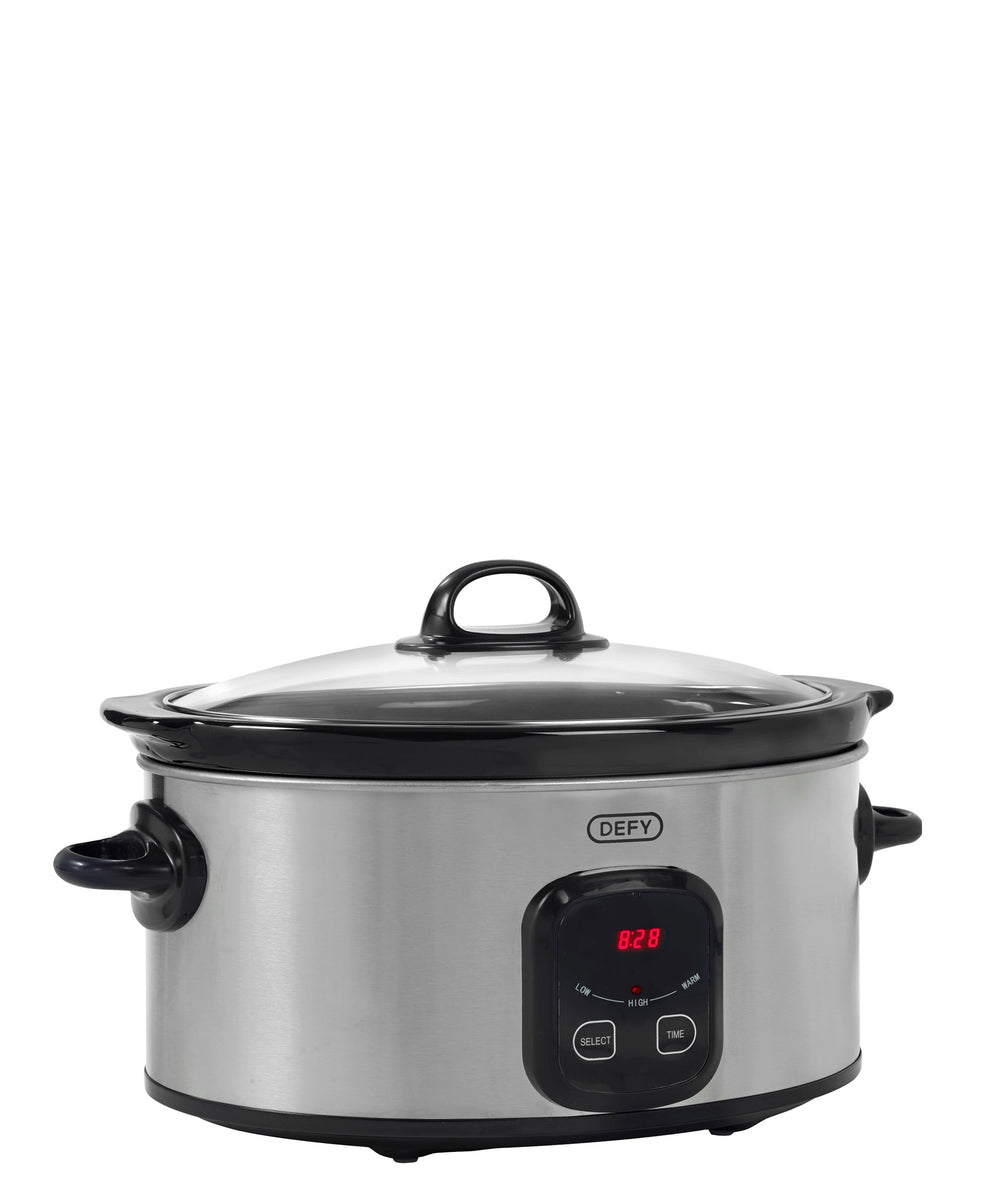 Defy Slow Cooker - Silver