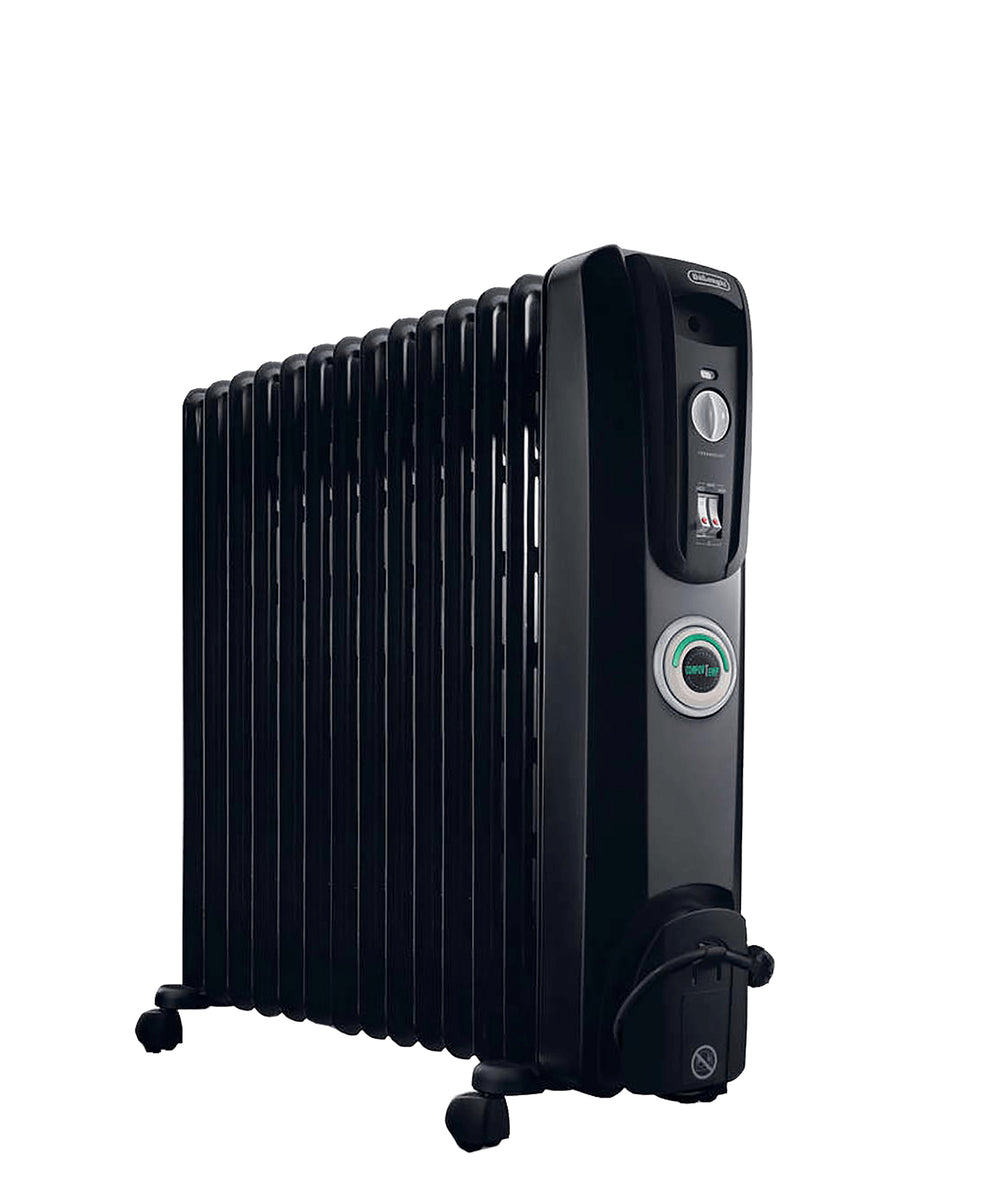 DeLonghi 14 Fin Heater - Black
