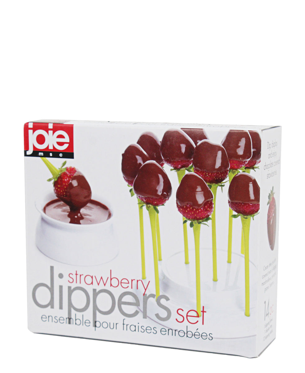Joie Strawberry Dipper Set - Yellow