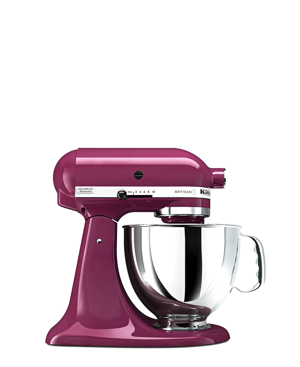 KitchenAid 4.8LT Stand Mixer + Free S/S Bowl - Boysenberry