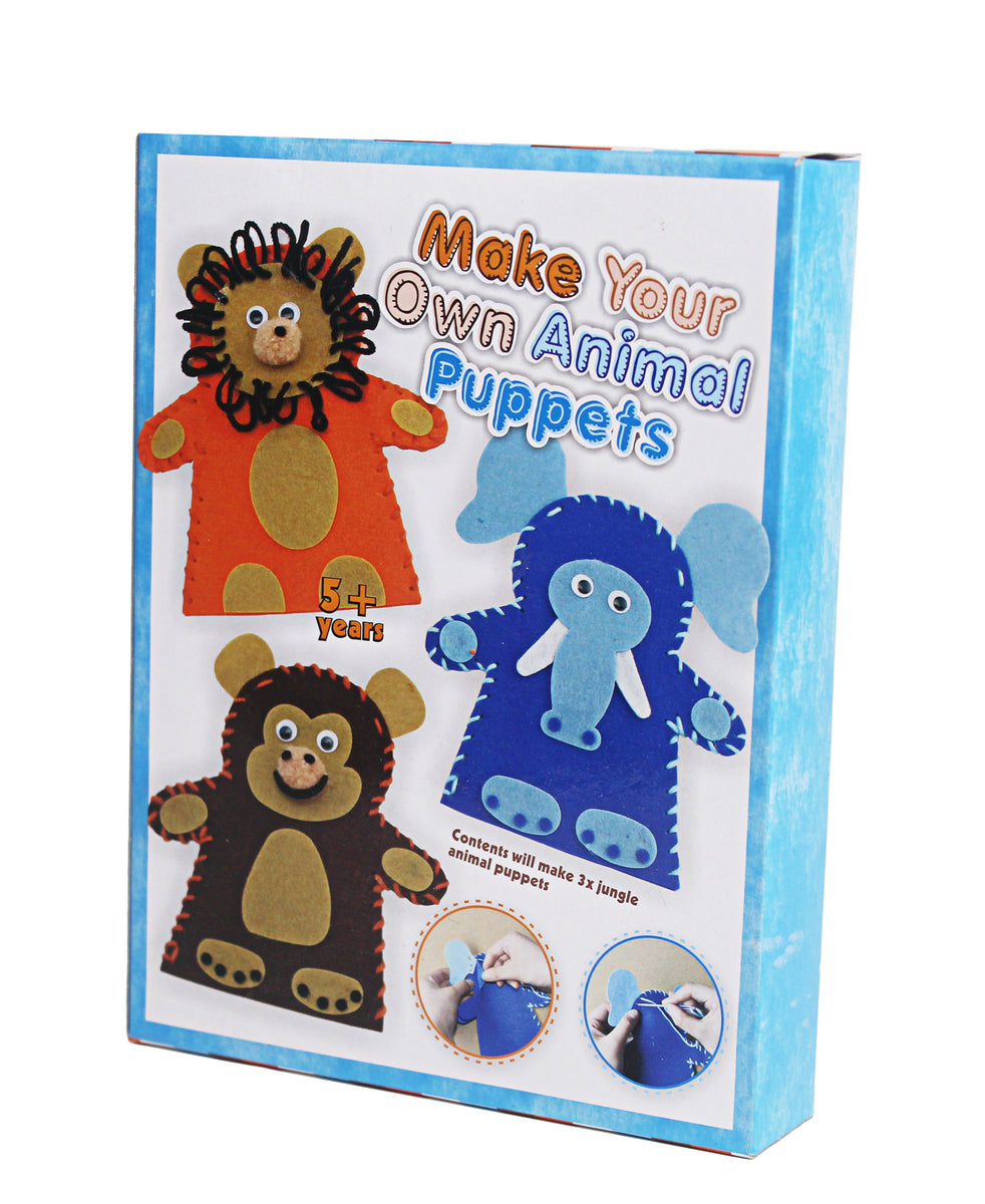 Make Your Own Animal Puppet