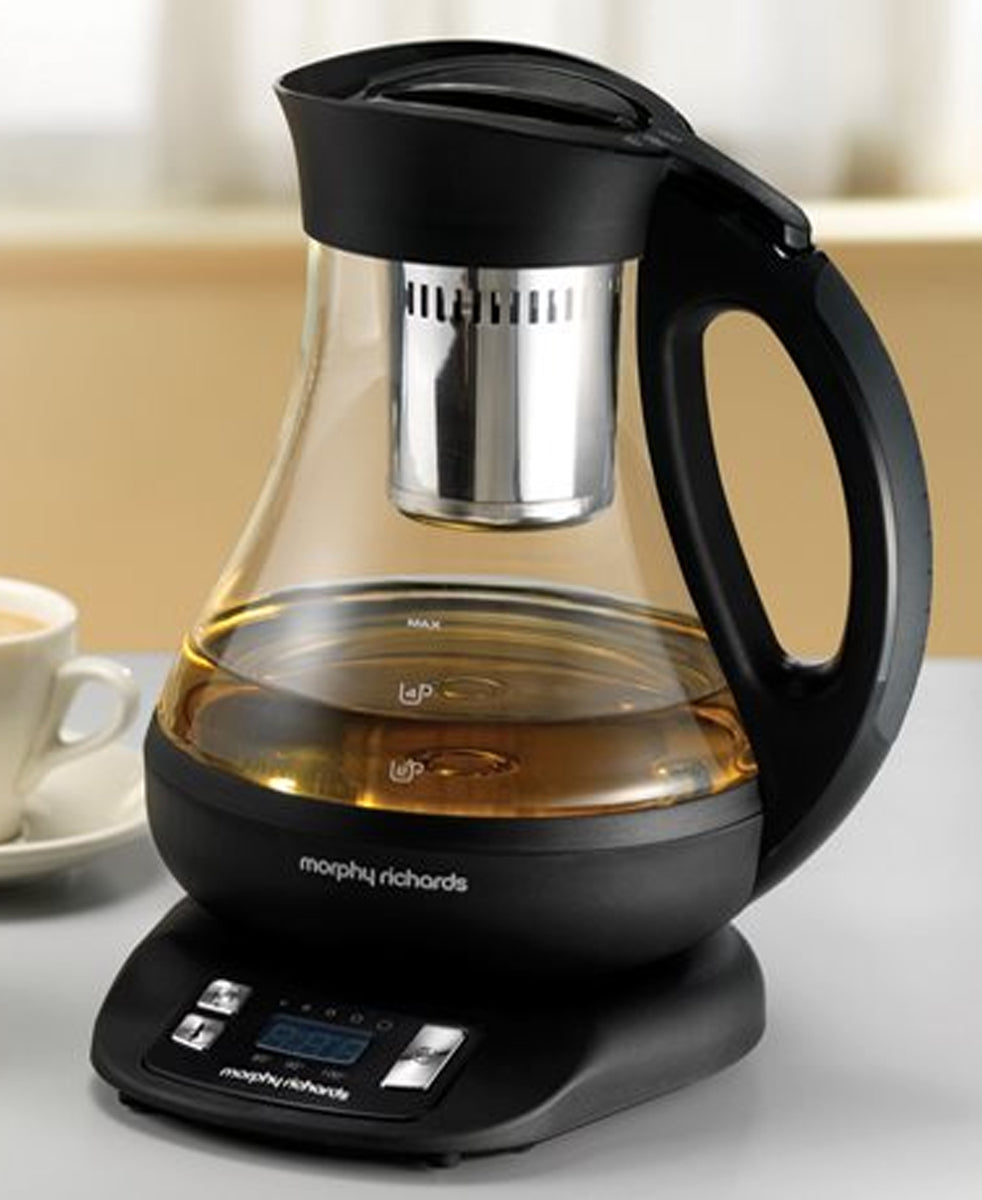 Morphy Richards 1 Litre Tea Maker - Black