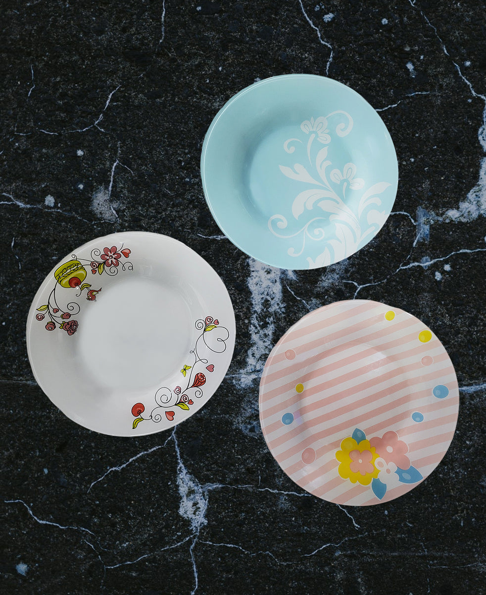 Pasabahce Serving Plates - Blue