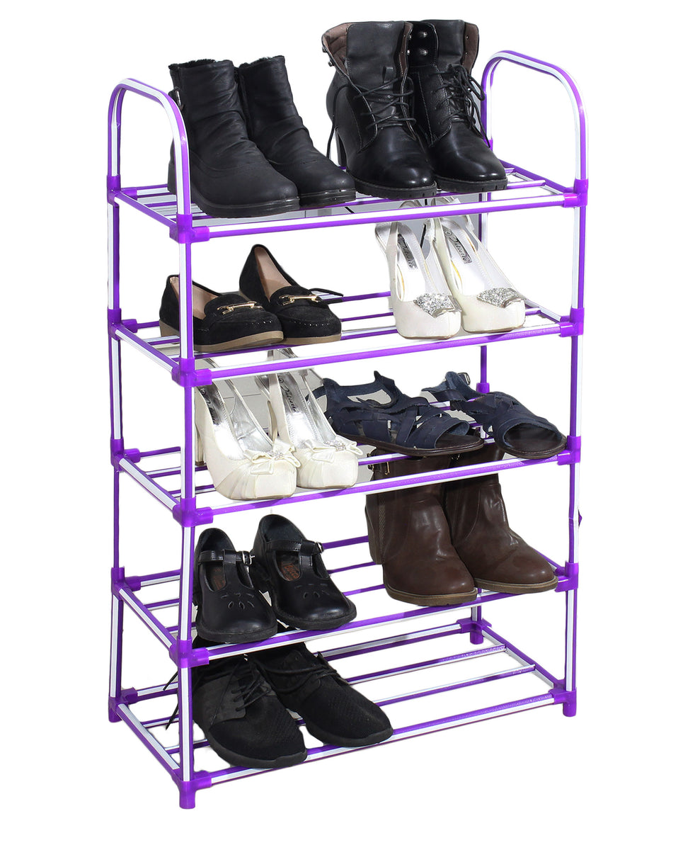 Sheila Multi Purpose Shoe Rack - Purple