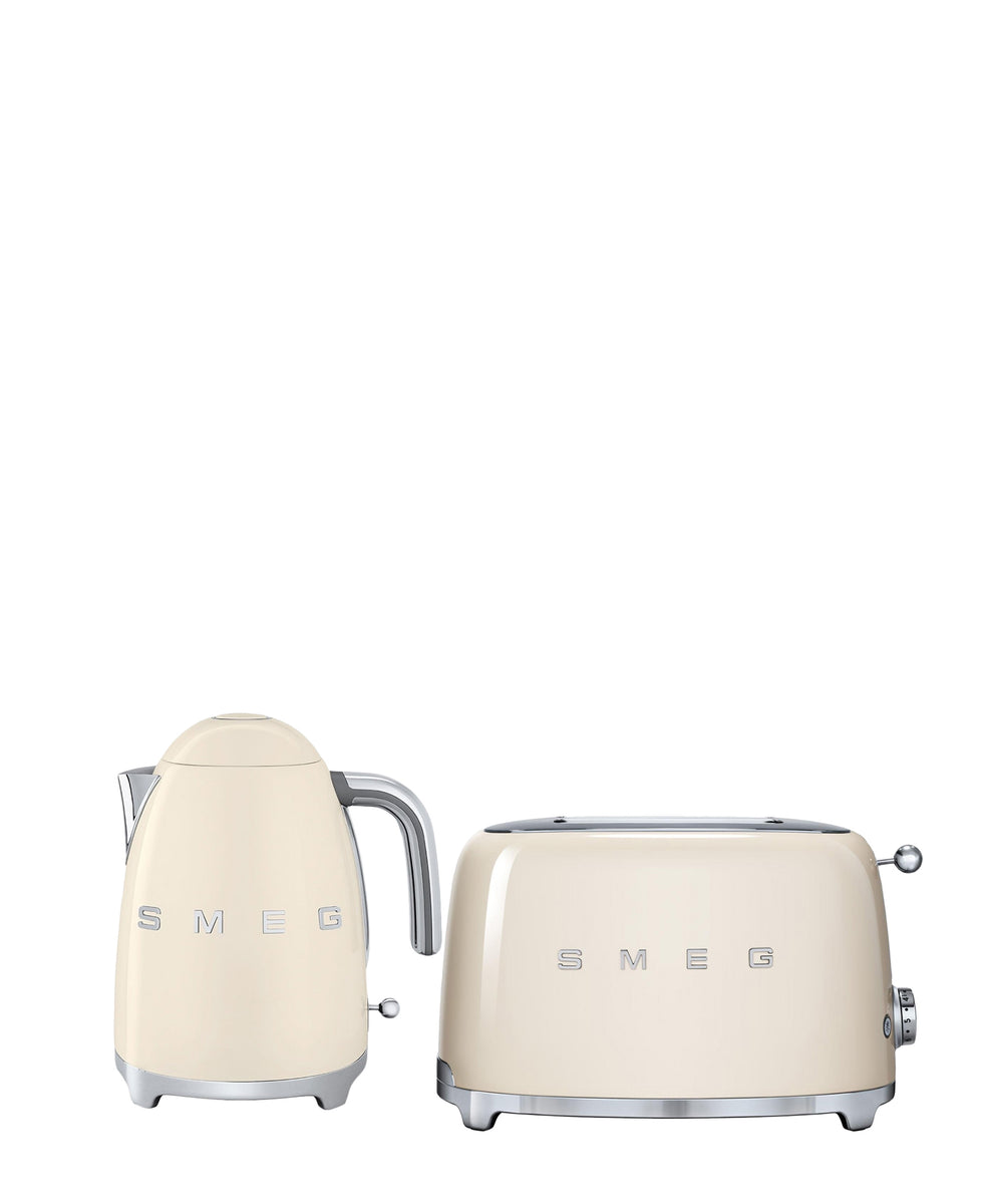 Smeg Kettle & Toaster Combo - Cream